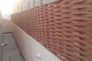 مظلات:كيف يتم تركيب سواتر حديد لجدران الفلل والبيوت ؟