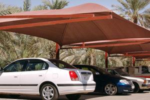 مظلات:هل يمكن إنشاء مشاريع مظلات المواقف وتركيب مظلات سيارات ؟