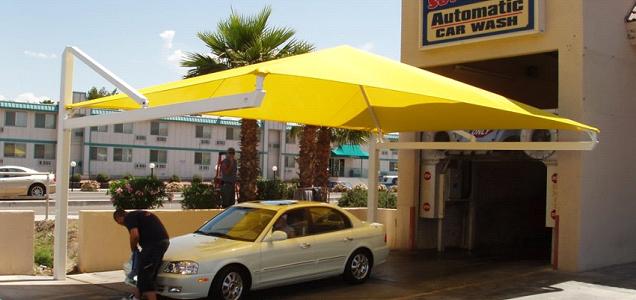 مظلات سيارات من مؤسسة السيف للمظلات والسواتر