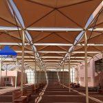 مظلات المدارس وساحات الجامعات والكليات بالسعودية